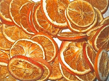 100g Bag of  Dried Orange Slices Wreath Making Pot Pourrie